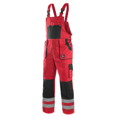 LUXY BRIGHT RED BIBPANTS