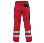 LUXY BRIGHT RED TROUSERS